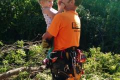 Arborist Sam Beeler